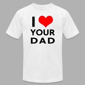 I heart your dad - Men's Fine Jersey T-Shirt
