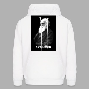 Darwin Evolution Pixels - Men's Hoodie