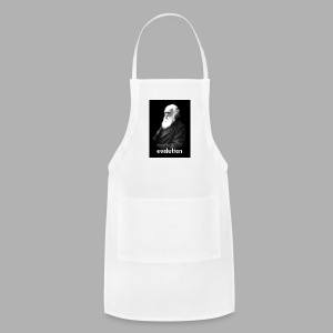 Darwin Evolution Pixels - Adjustable Apron