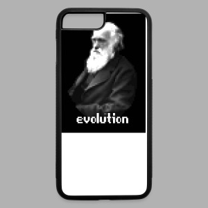 Darwin Evolution Pixels - iPhone 7 Plus Rubber Case
