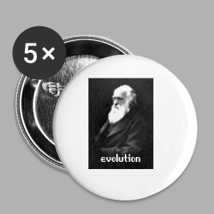 Darwin Evolution Pixels - Small Buttons