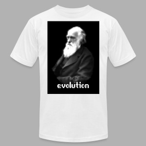 Darwin Evolution Pixels - Men's Fine Jersey T-Shirt