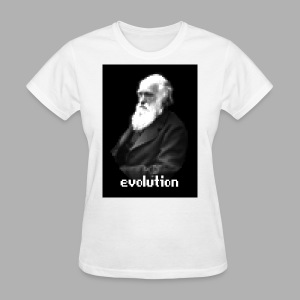 Darwin Evolution Pixels - Women's T-Shirt