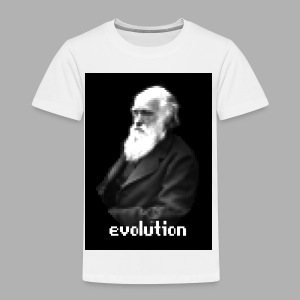 Darwin Evolution Pixels - Toddler Premium T-Shirt