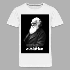 Darwin Evolution Pixels - Kids' Premium T-Shirt