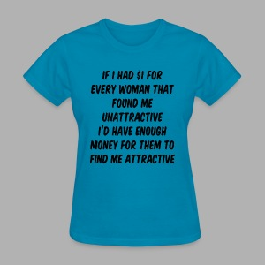 If I had a dollar - Women's T-Shirt