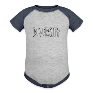 Diversity (Outline) - Baby Contrast One Piece