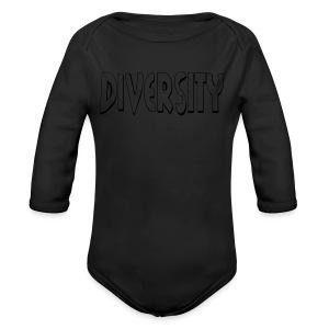 Diversity (Outline) - Long Sleeve Baby Bodysuit