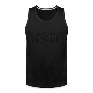 Diversity (Outline) - Men's Premium Tank