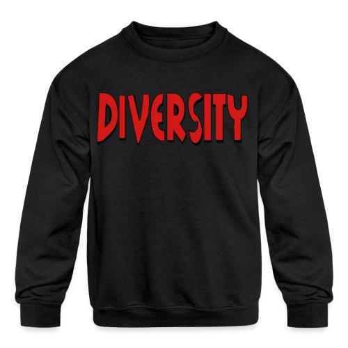 Diversity - Kid's Crewneck Sweatshirt