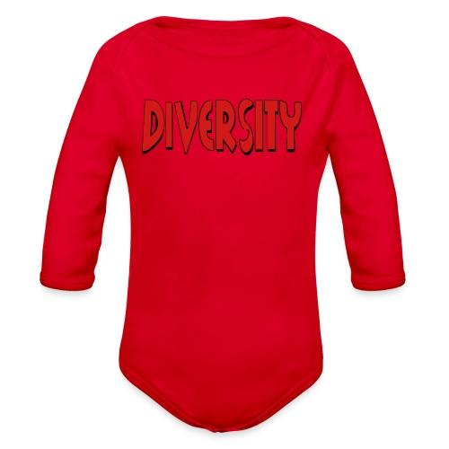 Diversity - Organic Long Sleeve Baby Bodysuit