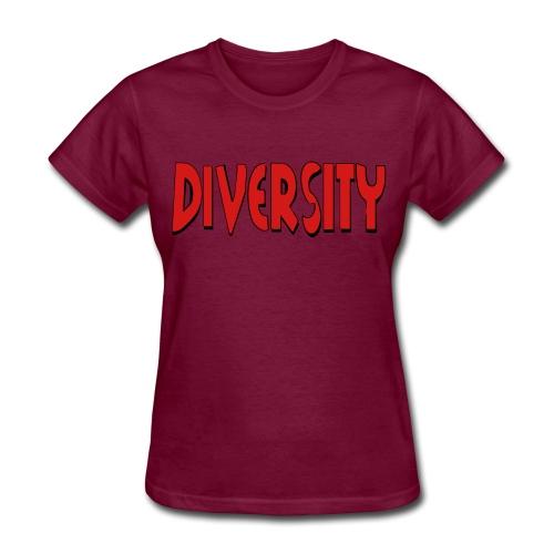 Diversity - Women's T-Shirt