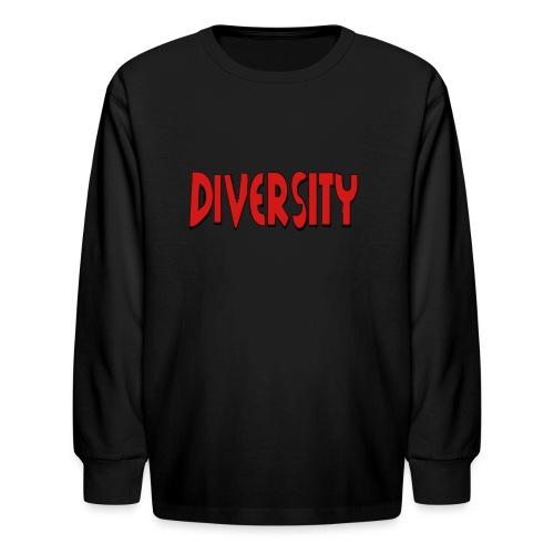 Diversity - Kids' Long Sleeve T-Shirt