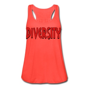 Diversity - Women's Flowy Tank Top by Bella