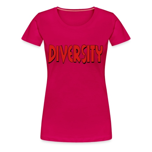 Diversity - Women's Premium T-Shirt