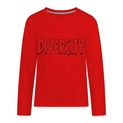 Diversity - Kids' Premium Long Sleeve T-Shirt