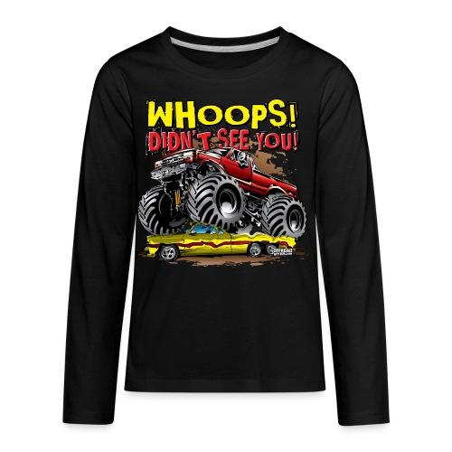 Monster Truck Accident - Kids' Premium Long Sleeve T-Shirt