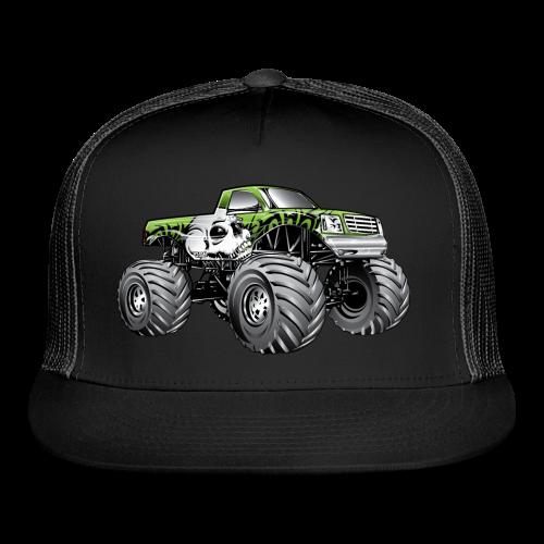 Skull Death Monster Truck - Trucker Cap