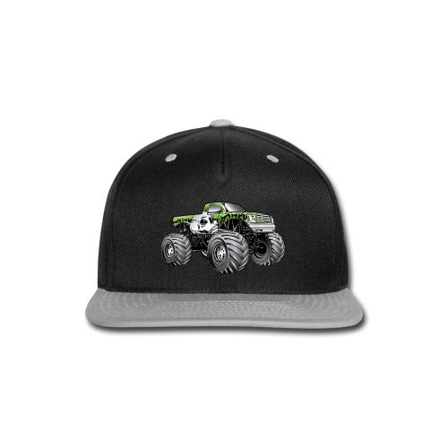 Skull Death Monster Truck - Snap-back Baseball Cap
