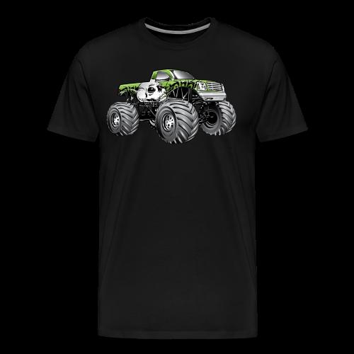 Skull Death Monster Truck - Men's Premium T-Shirt
