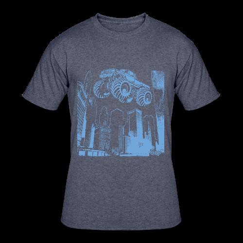 Flying Monster Truck - Men's 50/50 T-Shirt