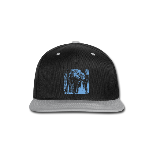 Flying Monster Truck - Snap-back Baseball Cap