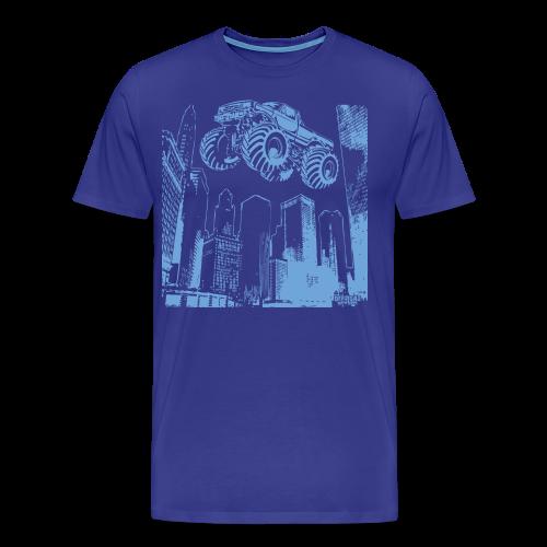 Flying Monster Truck - Men's Premium T-Shirt