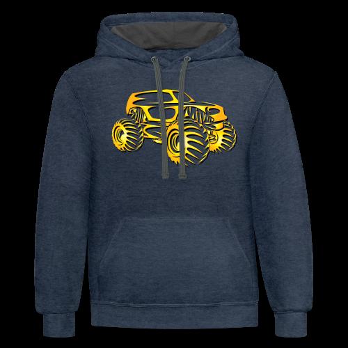 Monster Truck SUV - Contrast Hoodie