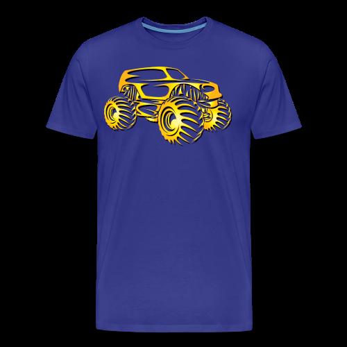 Monster Truck SUV - Men's Premium T-Shirt