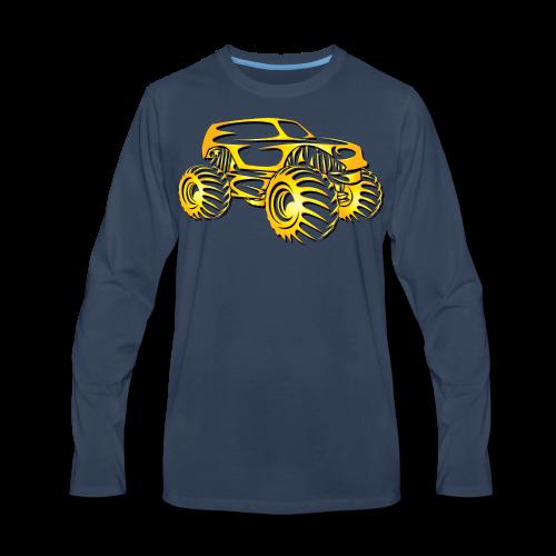 Monster Truck SUV - Men's Premium Long Sleeve T-Shirt