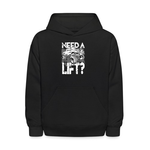 Need a Truck Lift - Kids' Hoodie