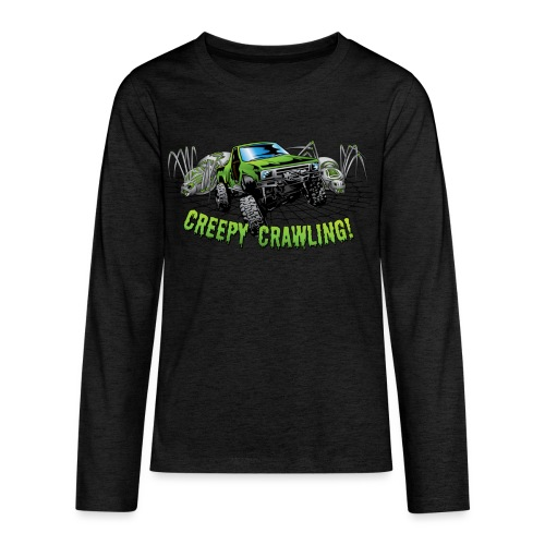 Creepy Truck Crawler - Kids' Premium Long Sleeve T-Shirt