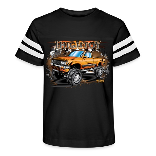 1HighToy Lifted Truck - Kid's Vintage Sport T-Shirt