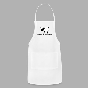 Sheep the One on the Left - Adjustable Apron