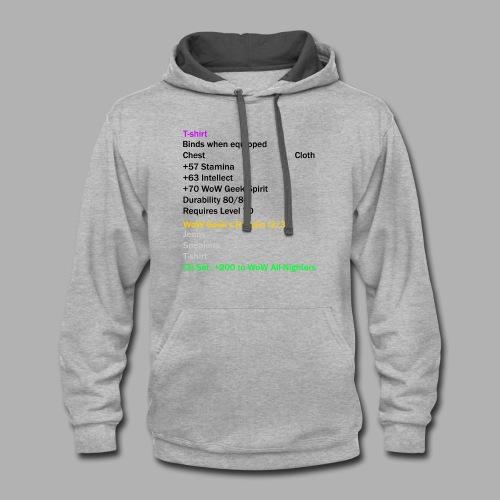 Epic T-Shirt Set Piece - Contrast Hoodie