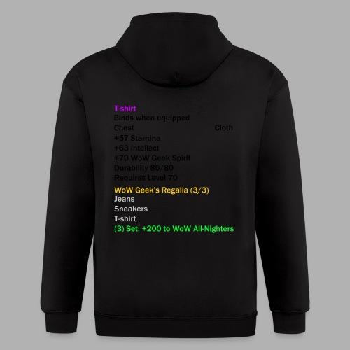 Epic T-Shirt Set Piece - Men's Zip Hoodie