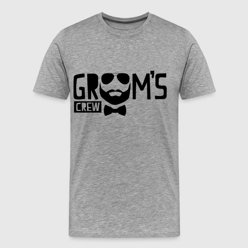 Groom's Crew T-Shirts - Men's Premium T-Shirt