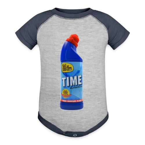 Time Bleach - Women's T-Shirt - Baby Contrast One Piece