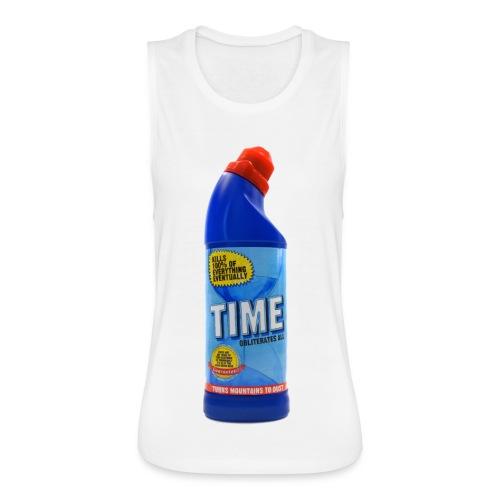 Time Bleach - Women's T-Shirt - Women's Flowy Muscle Tank by Bella