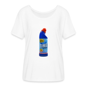 Time Bleach - Women's T-Shirt - Women's Flowy T-Shirt
