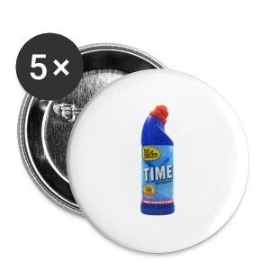 Time Bleach - Women's T-Shirt - Large Buttons