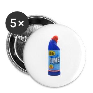 Time Bleach - Women's T-Shirt - Small Buttons