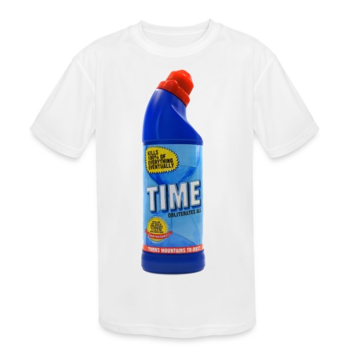 Time Bleach - Women's T-Shirt - Kid's Moisture Wicking Performance T-Shirt