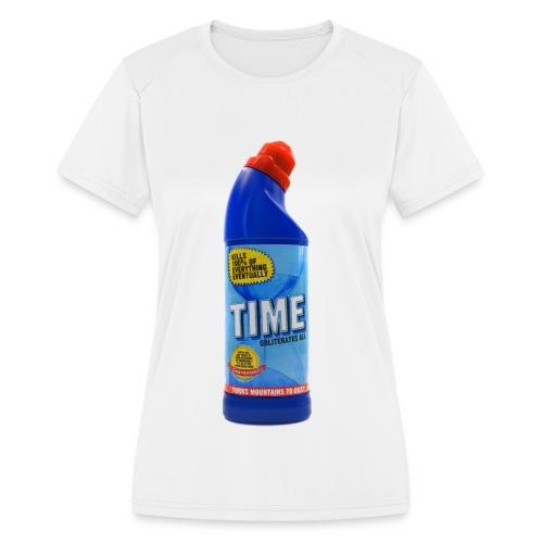Time Bleach - Women's T-Shirt - Women's Moisture Wicking Performance T-Shirt