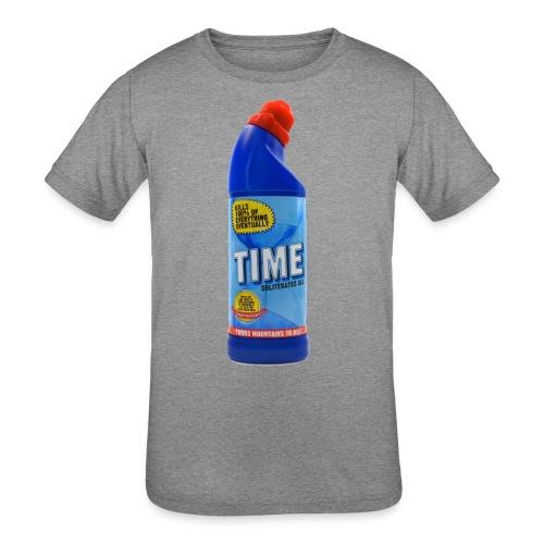 Time Bleach - Women's T-Shirt - Kids' Tri-Blend T-Shirt