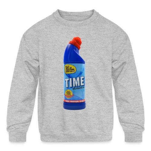 Time Bleach - Women's T-Shirt - Kid's Crewneck Sweatshirt