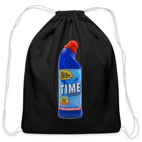 Time Bleach - Women's T-Shirt - Cotton Drawstring Bag