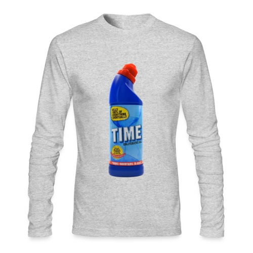 Time Bleach - Women's T-Shirt - Men's Long Sleeve T-Shirt by Next Level