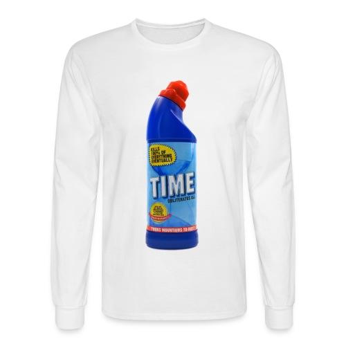 Time Bleach - Women's T-Shirt - Men's Long Sleeve T-Shirt