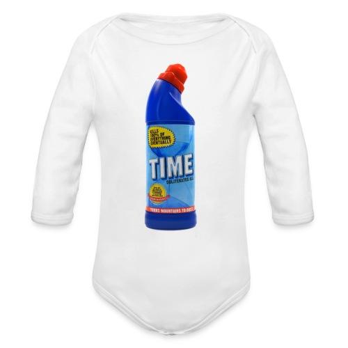 Time Bleach - Women's T-Shirt - Organic Long Sleeve Baby Bodysuit